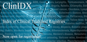 www.clinidx.com - clinical trials and registries